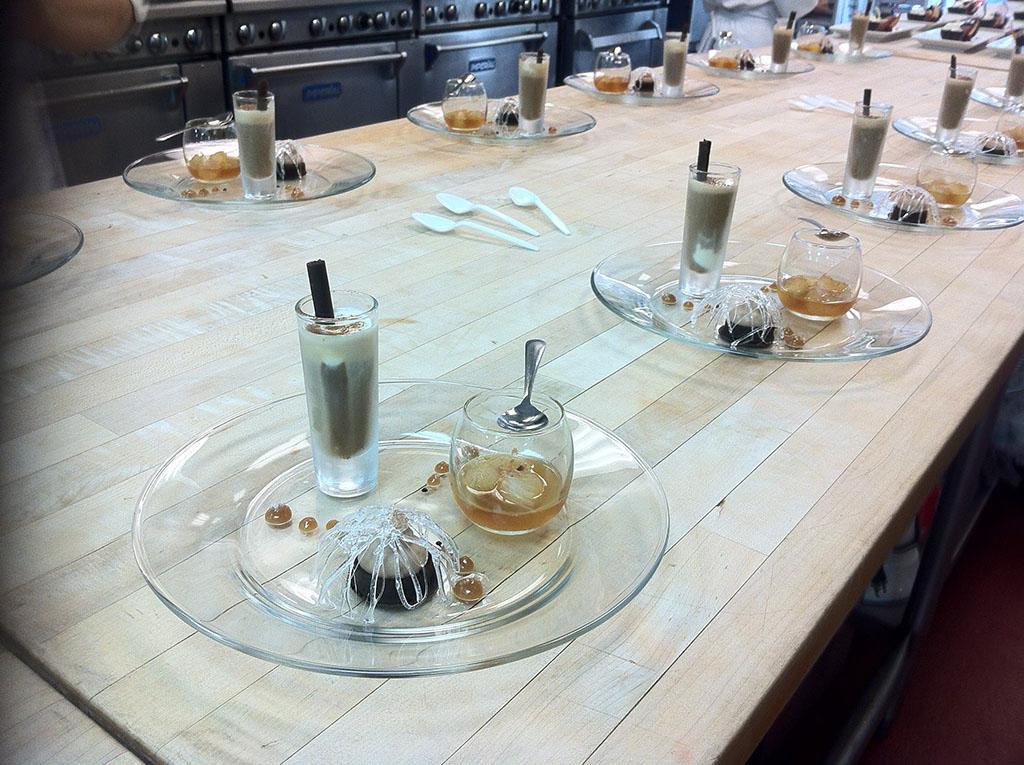 Trio * Iced Espresso Float with Mascarpone Gelato & Dark Chocolate ...